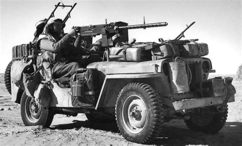 Lrdg Long Range Desert Group North Africa 1943