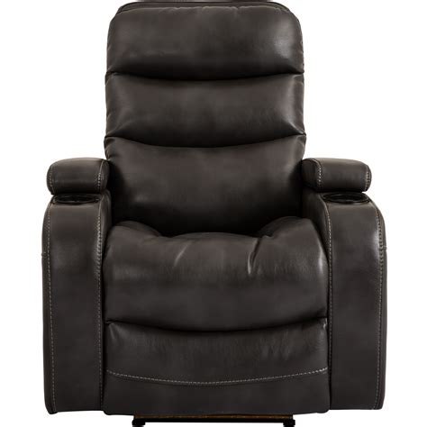 recliners with cup holders living genesis mgen 812p fli contemporary home