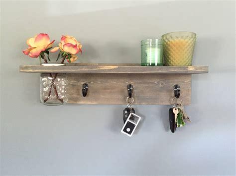key rack for wall key holder key hookwall shelf wall coat rack with shelf