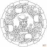 Coloring Pages Patricks St Mandala Leprechaun Gold Printable Pots Saint Crafts sketch template