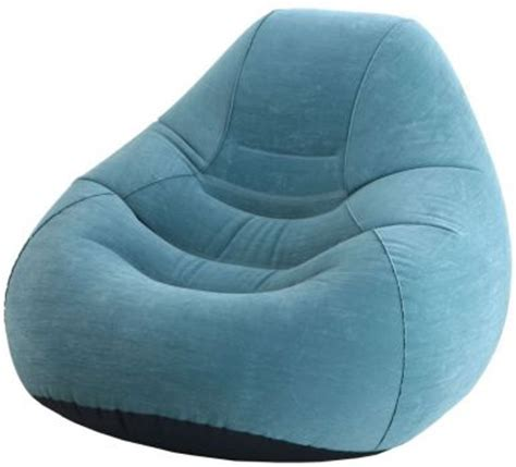 Beanless Bag Chair India intex deluxe beanless bag chair classic teal air beds