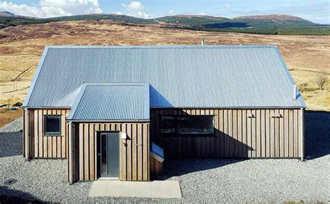 Simple Yet Smart Contemporary Croft On The Isle Of Skye