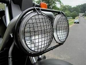 New Set Headlight Cover Wire Mesh Honda Big Ruckus Scooter