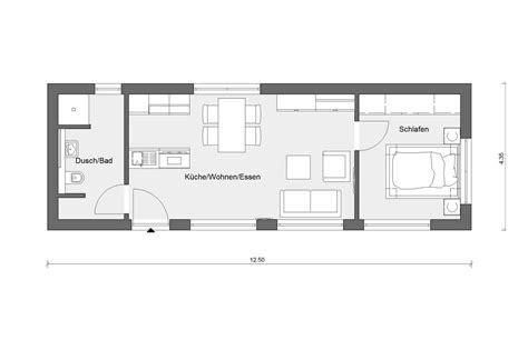 Tiny Häuser Grundrisse by Minihaus Mit 50 M 178 Wohnfl 228 Che Schw 246 Rerhaus