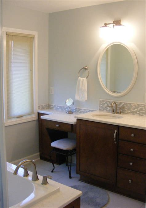 Bathroom Vanities With Makeup Table by Vanity Area With Make Up Table Jpg