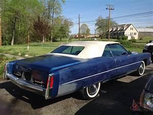 Cadillac Eldorado Cabriolet : 1974 cadillac eldorado convertible ~ Medecine-chirurgie-esthetiques.com Avis de Voitures
