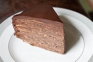 Chocolate Hazelnut Crêpes Cake