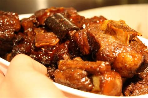 oxtails recipe glazed oxtails recipe dishmaps
