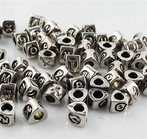 China metal alphabet beads ab 11021101 china metal for Metal letter beads