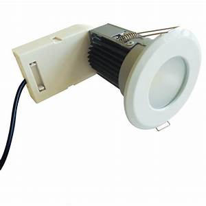 Eterna 7w Ip65 Fire Rated Led Downlight White Lfr7wh
