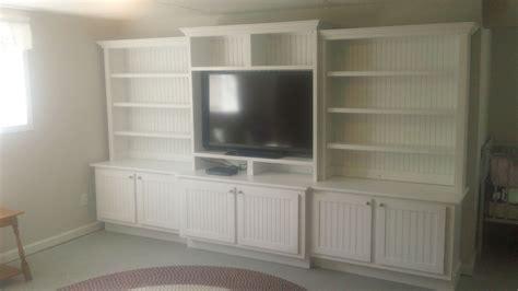 buy  custom large white entertainment center