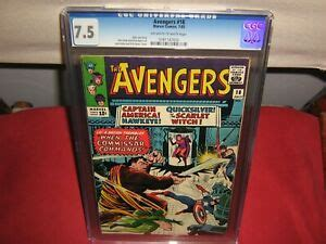 *THE AVENGERS #18 CGC 7.5 OFF WHITE to WHITE PAGES 07/1965 ...