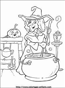Dessin D Halloween Facile : dessin de coloriage halloween imprimer cp13167 ~ Dallasstarsshop.com Idées de Décoration