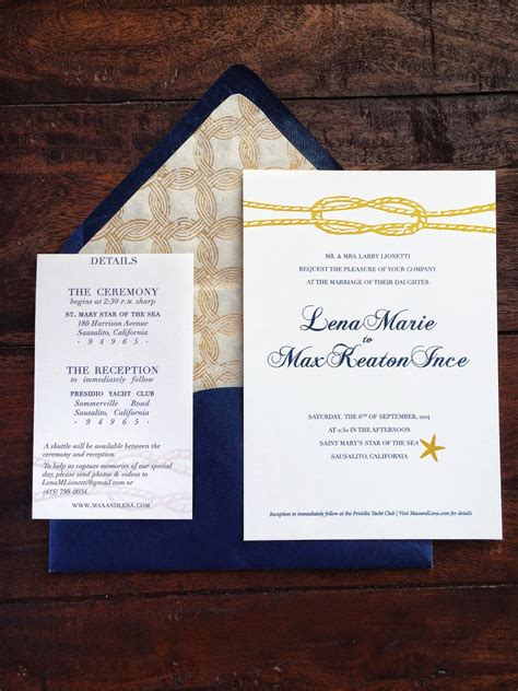 entry level adulthood diy nautical wedding