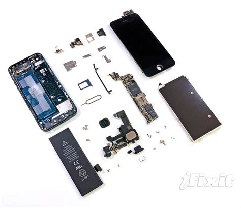 iphone hardware specialists of ifixit has disassembled iphone 5 to