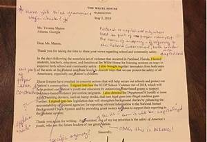 Retired English Teacher Receives Letter From Trump