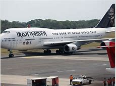 Iron Maiden's plane 'badly damaged' in collision with truck
