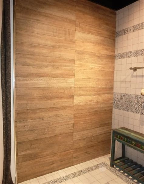 Mosaic Shower Wall Panels by Sydney Timber Look Tiles Floor Porcelain Wood Tile Showroom