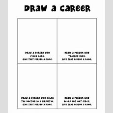 Draw A Career (gender Stereotypes) Wwwelementaryschoolcounselingorg Classroombased