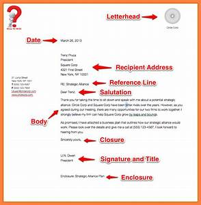 Simplified Letter Format How To Write A Business Letter For A Company With Example