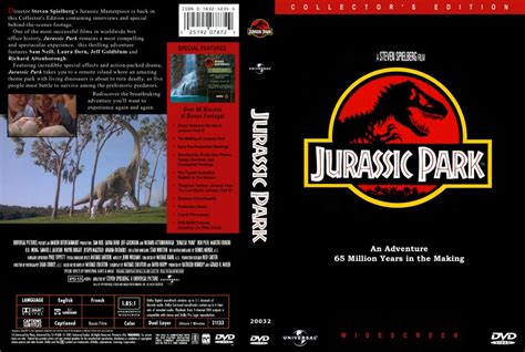 Jurassic Park Cover by Jurassic Park Custom Movie Dvd Scanned Covers 2168jp