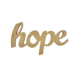 Cursive Word Hope