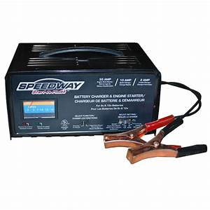 Speedway Start To Finish 6  U0026 12 Volt Battery Charger