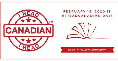 CanLit for LittleCanadians: I Read Canadian Day: Feb 19 2020