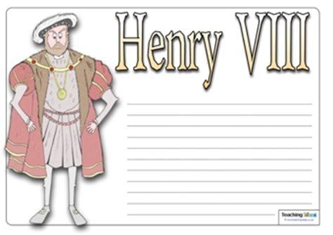 Tudor Menu Template Henry Viii Templates Teaching Ideas