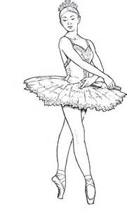 Ballet Dancer Coloring Pages for Adults