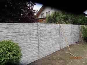 Zaun Aus Beton : beton zaun betonz une betonwand betonzaun g nstig ~ A.2002-acura-tl-radio.info Haus und Dekorationen