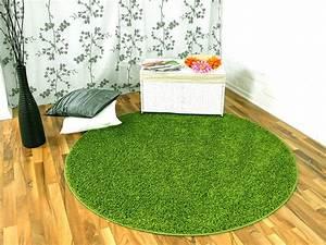 Outdoor Teppich Grün : hochflor langflor teppich shaggy nova gr n rund ~ Michelbontemps.com Haus und Dekorationen