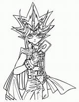 Coloring Pages Yugioh Printable sketch template