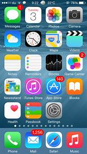 Image Gallery iphone default app layout
