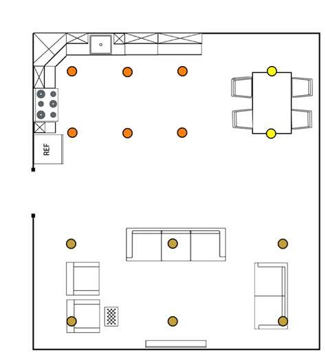 recessed lighting layout ideas  pinterest