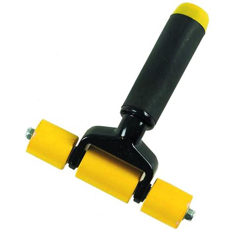 home depot flooring roller gundlach 3 in j roller for plastic laminate 02000 the home depot