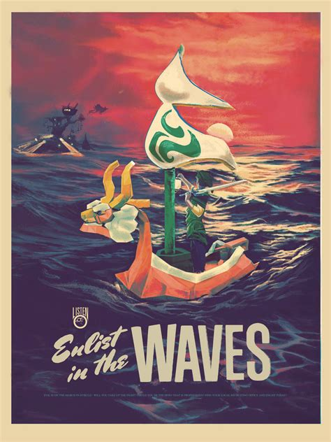 Legend Of Zelda World War Ii Propaganda Posters