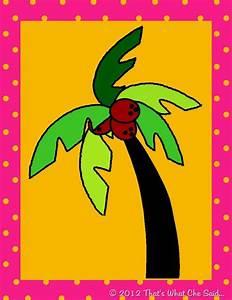 chicka chicka boom boom activity With chicka chicka boom boom palm tree template
