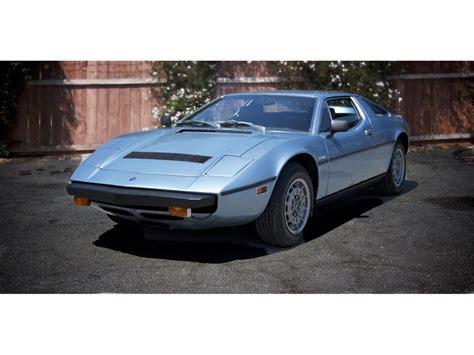Maserati Merak Ss For Sale by 1975 Maserati Merak Ss For Sale Classiccars Cc 1135687