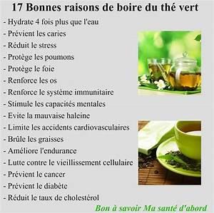 Bienfaits Du Thé Vert : bienfaits du th vert infos sur les aliments sp cifique ~ Melissatoandfro.com Idées de Décoration
