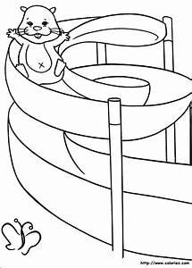 Dessin De Piscine : toboggan dessin cabanes abri jardin ~ Melissatoandfro.com Idées de Décoration