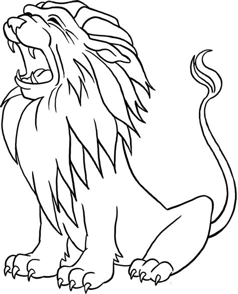 lion coloring pages  coloring pages