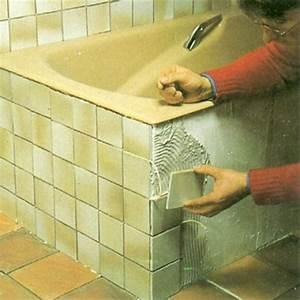 Pose De Carrelage Sur Carrelage : carrelage d 39 une salle de bains ~ Melissatoandfro.com Idées de Décoration