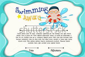 free swimming certificate templates 14 free swimming certificate templates samples designs formats - Free Swimming Certificate Templates