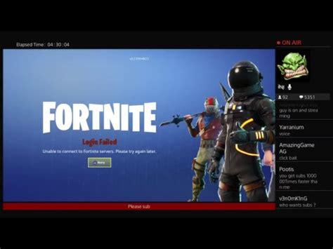 fortnite servers    fix youtube