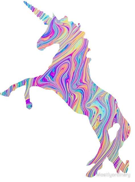 unicorn stickers redbubble