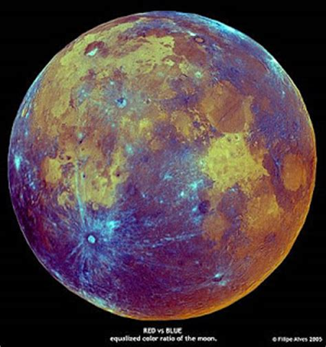 what is the color of the moon impossible kisses the false color moons of filipe alves