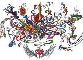 Love Music Drawing