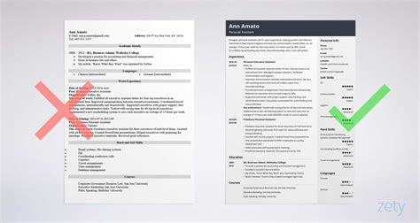 personal assistant resume sle writing guide 20