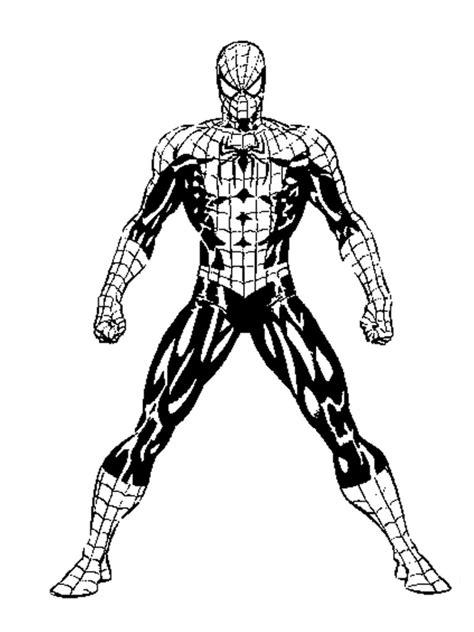 disegni da colorare uomo ragno gratis disegno da colorare della figura intera dell uomo ragno